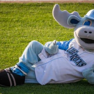Blue Rocks Mascot in Wilmington